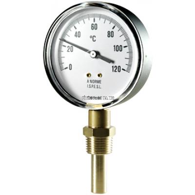 Термометр биметаллический радиальный купить в магазине Самогона.Нет