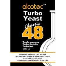 Дрожжи спиртовые Alcotec 48 TURBO Classic