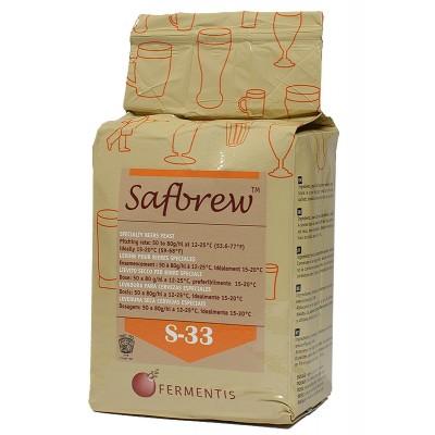 Пивные дрожжи Fermentis Safebrew S-33|  Самогона.Нет