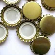 Кроненпробки,  золотые (80 шт)