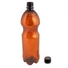Бутылка ПЭТ 1л с крышкой(пивная)белая