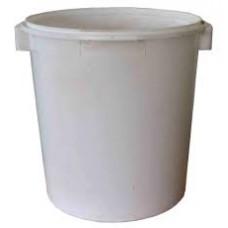 Пластмассовая емкость 30л с крышкой